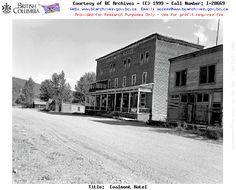 Vanishing B.C. Coalmont Hotel