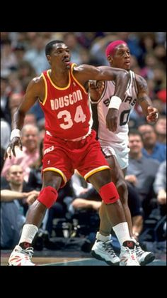 Two of the best rebounders the game has ever seen The Dream Hakeem Olajuwan & The Bad Boy Dennis Rodman