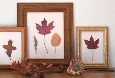 Fall decor, Fall DIY project, leaves