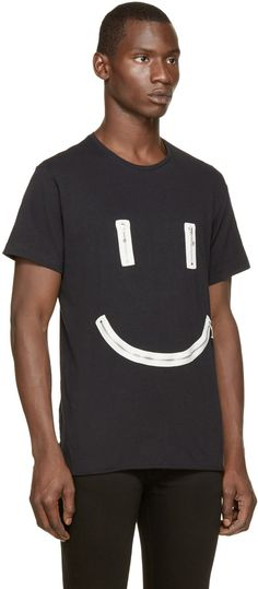 Diesel Black T-Smiley T-Shirt