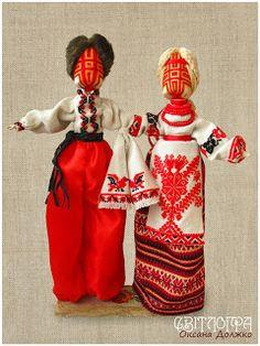 Svitlogra - творча майстерня: Лялька-мотанка Нерозлучники