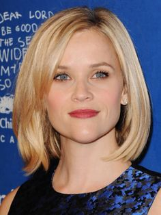 """We are obsessed with Reese's new bob. Obsessed. Proof of its anti-ageing benefits, it flatters the 37-year-old and brings her look bang up to date.<br /><br /><a href=""""http://www.cosmopolitan.co.uk/beauty-hair/news/styles/celebrity/cosmo-hairstyle-of-the-day"""">COSMO'S HAIRSTYLE OF THE DAY</a><br /><br /><a href=""""http://www.cosmopolitan.co.uk/beauty-hair/news/styles/celebrity/face-framing-fringes-hair-trend?click=main_sr"""">COOL CELEBRITY FRINGES</a><br /><br /><a ..."""