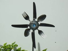 Fork Spoon and Knife Sunflower