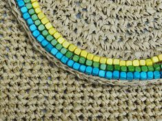 Raffia Crochet Bead Purse Pattern