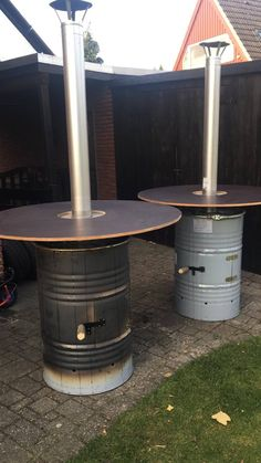 Outdoor Tables, Outdoor Decor, Lake Camping, Home Bar Designs, Tyres Recycle, Terrace Design, Barbecue Grill, Charcoal Grill, Metal Crafts
