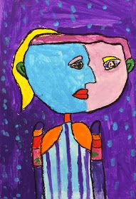 In Art Class: More Picasso Portraits