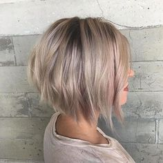 """72 Likes, 5 Comments - Los Angeles Hair Stylist (@manemisfit) on Instagram: """"I love creating blondes with edge. Color I created this icy blonde melt using Redken flash lift…"""""""