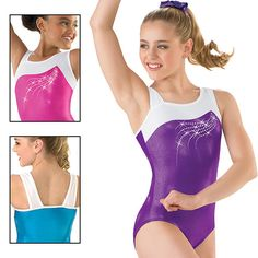 Clearance Falling Star Gymnastic Leotards | Leotards And More