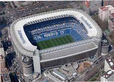 Santiago Bernabeu Football Stadium, home to Real Madrid Spain Football, Real Madrid Football, Best Football Team, Soccer Stadium, Football Stadiums, Santiago Bernabeu, Football Pictures, Philadelphia Eagles, Manchester United