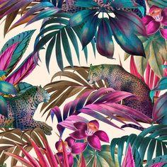 patternbank.com/helloakiko #Repost @helloakikodesign ・・・ Lush leopard botanical new on @patternbank 🐆 patternbank.com/helloakiko…