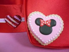 MInnie Mouse Cookies Party Favors Custom Birthday Party for Little Girl on Etsy, $36.00