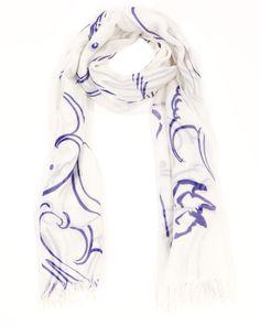 horiyoshi the third - indigo rabbit scarf