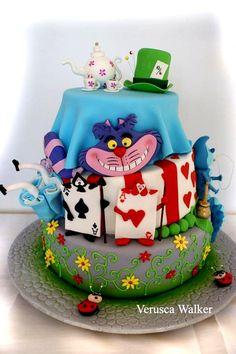 Alice in Wonderland by Verusca Walker based on Caeks Cake