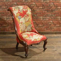 Antique Victorian nursing chair dating to c.1850 [£795.00]