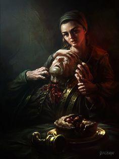 Frey's Death, Renato Giacomini on ArtStation at…