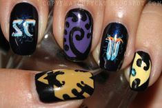 Copy That, Copy Cat: Starcraft Nails