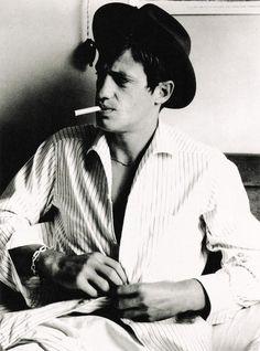 """iloveretro:   Jean-Paul Belmondo in """"À bout de souffle/Breathless"""" (1960)"""