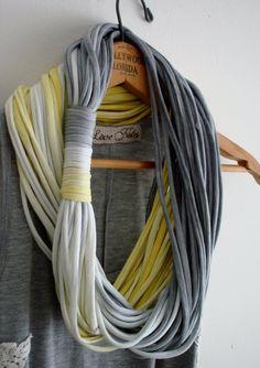 Multi string infinity scarf