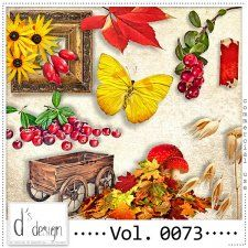 Vol. 0073 - Autumn Nature Mix  by Doudou's Design  cudigitals.com cu commercial scrap scrapbook digital graphics#digitalscrapbooking #photoshop #digiscrap