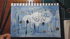 우주의 언어 #space #illustration #drawing #acrylic #painting #일러스트레이션 #그림 #드로잉 #페인팅