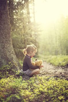 Like this setting for family pics. In the forest by Osmo Lassila on 500px