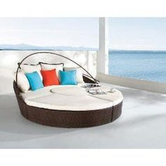 Dreamscrape - synthetic weaving chaise lounge. YES PLEASE would be perfect at the summer house.
