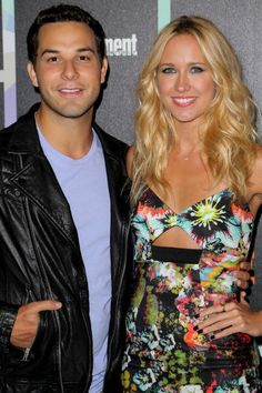 Skylar Astin and Anna Camp attend Entertainment Weekly's Annual Comic-Con Celebration.