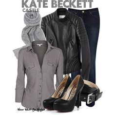 A fashion look from January 2013 featuring James Perse blouses, 3.1 Phillip Lim jackets and Warehouse jeans. Browse and shop related looks.