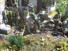 Diorama created by my friend, showing madness and cruelty of murderes of so called Ukrainian Insurgent Army (UPA). Volhynia, Zielony Dab, 3 July 1943.