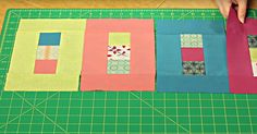 Simple, Colorful, And Fun, The Stop Light Quilt Is Great For Beginners!