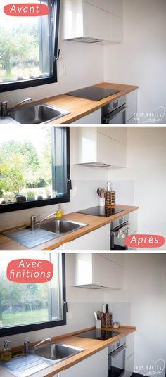 Crédence cuisine adhésive Smart Tiles Hexago #DIY #Cuisine #Kitchen #Deco