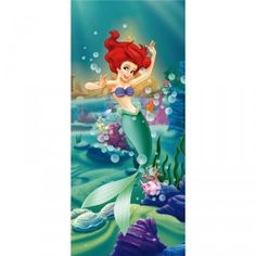 'Ariel the Mermaid and her Fish Friends' x Wallpaper Rapunzel, Buy Wallpaper Online, Disney Characters, Fictional Characters, Mermaid, Disney Princess, Art, Products, Party