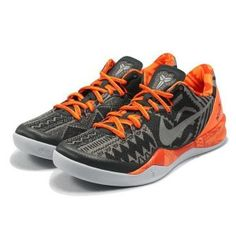 pretty nice 58d63 0d3f5 Nike Kobe 8 BHM System History Month Black Orange