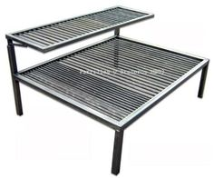 Parrilla Doble Cheff 70x50 Con Bifera Desmontable Nuevas - $ 1.499,99 en Mercado Libre Barbecue Grill, Outdoor Barbeque, Diy Grill, Camping Fire Pit, Diy Fire Pit, Fire Pit Equipment, Built In Braai, Stainless Steel Bbq, Grill Design