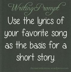The Sarcastic Muse Writing Prompts: Photo. I think I'm gonna use English love affair or amnesia or some other song.