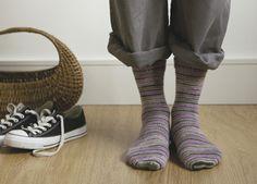 Strikkede sokker | Familie Journal