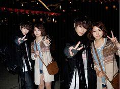 L.joe (teen top) and Sohyun (4minute)