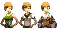 Shigenori Soejima - Persona 4 - Chie Satonaka Costumes