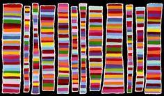 Aboriginal Artwork, Aboriginal Artists, Native Art, Cool Art, Arts And Crafts, Quilts, Abstract, Canvas, Painted Walls