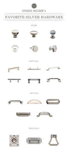 Studio McGee | Silver Hardware Roundup