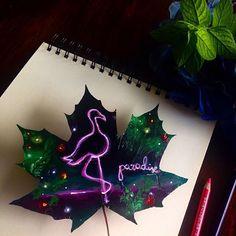 Neon Paradise Joanna Wirazk ______________________________ INFORMACJA #Polska #polandnow Jeśli chcecie kupić ręcznie malowanego listka, możecie skontaktować się ze mną przez email: asia@wirazka.com Mile są widziane własne pomysły na listki i wszelkie zamówienia. Odpowiem na każde pytanie. #art #artist #arts_help #neon #flamingo #instaart #arts__gallery #arts_mag #arts_promo #polishgirl #painting #la #60s #love #nature #magic #tumblrgirl #followme #worldofartists #sketch #night #city #pink