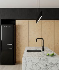 Contemporary design, reimagined with the Meir matte black kitchen mixer. See the full ran Steel Kitchen Sink, Stainless Steel Kitchen, Kitchen Sinks, Kitchen Mixer, Kitchen Backsplash, Kitchen Countertops, Kitchen Island, Perfect Image, Perfect Photo