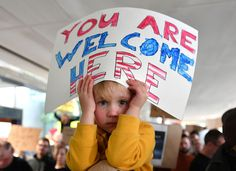Travel Ban: Silicon Valley Tech Giants Cry Foul Hattie Burke-foreuic holds up a sign on her father's shoulders during a protest at San Francisco International Airport, Jan. 29. (Josh Edelson/AFP/Getty Images)    Nearly 100 of America's top tech companies including Apple, Google and Facebook have joined the court battle against President Donald Trump's controversial immigration restrictions, warning the move would http://siliconeer.com/current/travel-ban-silicon-valley-tec