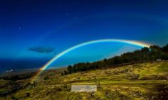 An incredible image of a moonbow was captured this weekend over Waimea on the Big Island. The photo was taken by photographer Ethan Tweedie. A moonbow, also known as a lunar rainbow, is produced by light reflected off the surface of the moon, rather than from direct sunlight.
