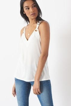 Perfect top to take from desk to dinner!