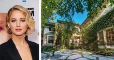 """J.Law is the latest of the revolving door of celebrities to occupy this Hidden Hills, California, home, which she purchased for $6.4 million. """"It's Ellen's old house. It was Jessica Simpson's old house. It's like the neighborhood whore,"""" Lawrence has said."""