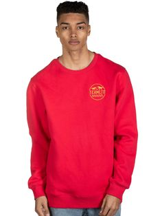 The Wave Crew Hot Red Mens Fleece, Graphic Sweatshirt, T Shirt, Wave, Sweatshirts, Long Sleeve, Hot, Sleeves, Sweaters