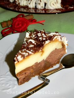 Sincera sa fiu nici nu imi mai aduc aminte cand am facut ultima oara … Romanian Desserts, Romanian Food, Flan, Mini Cheesecakes, No Cook Desserts, Eat Dessert First, Food Cakes, Something Sweet, Cake Cookies