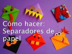 Hola, en esta entrega te enseño a hacer divertidos separadores de papel para tus libros. By: Samuelkun Facebook: http://www.facebook.com/samuelkunoficial Twi...