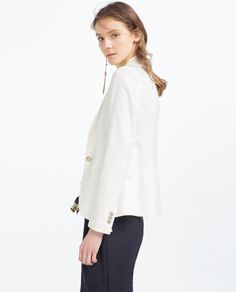 BUTTONED BLAZER - Available in more colours